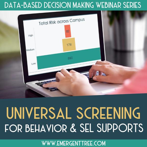 Universal Behavior Screener